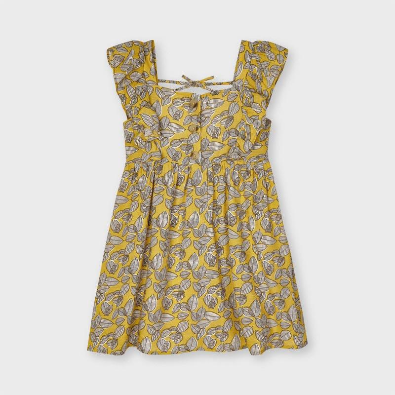 Платье «Листочки»