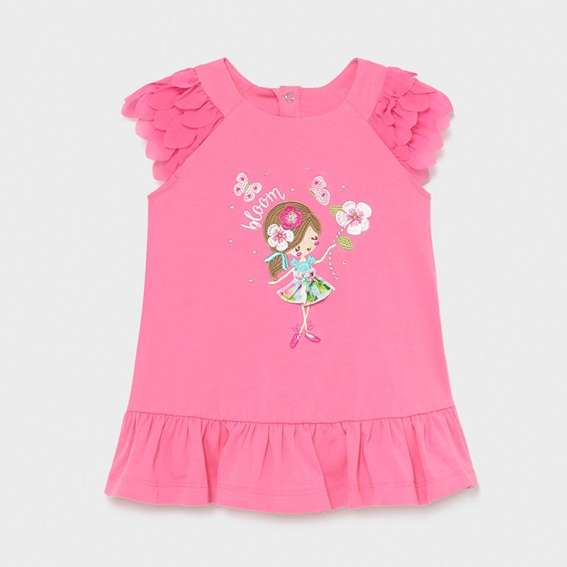 Платье розовое «Девочка»