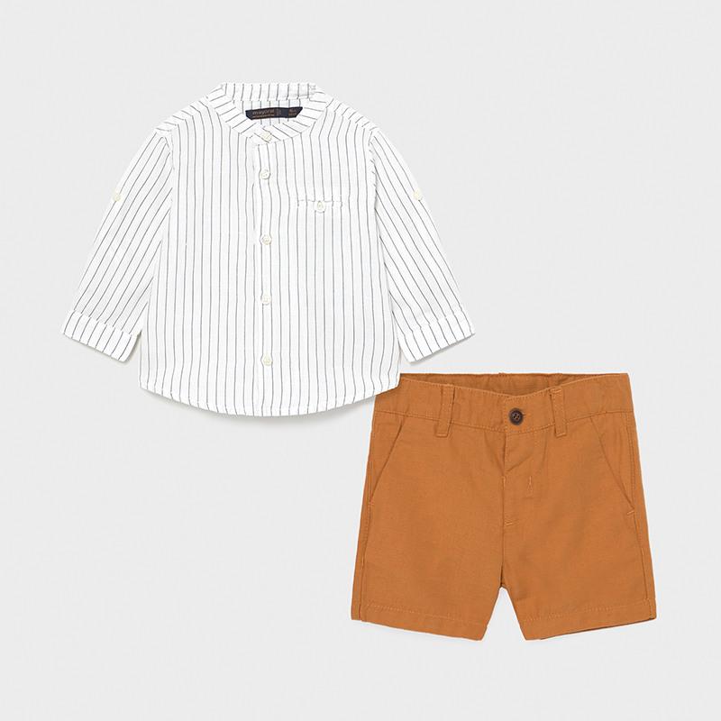 Рубашка и шорты «Карамель»