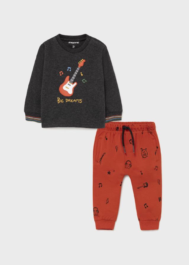 Пуловер и брюки «Гитара» (от 4 до 9 лет) 21/22